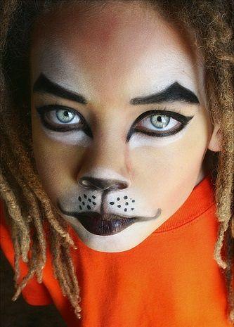 maquillaje para leon