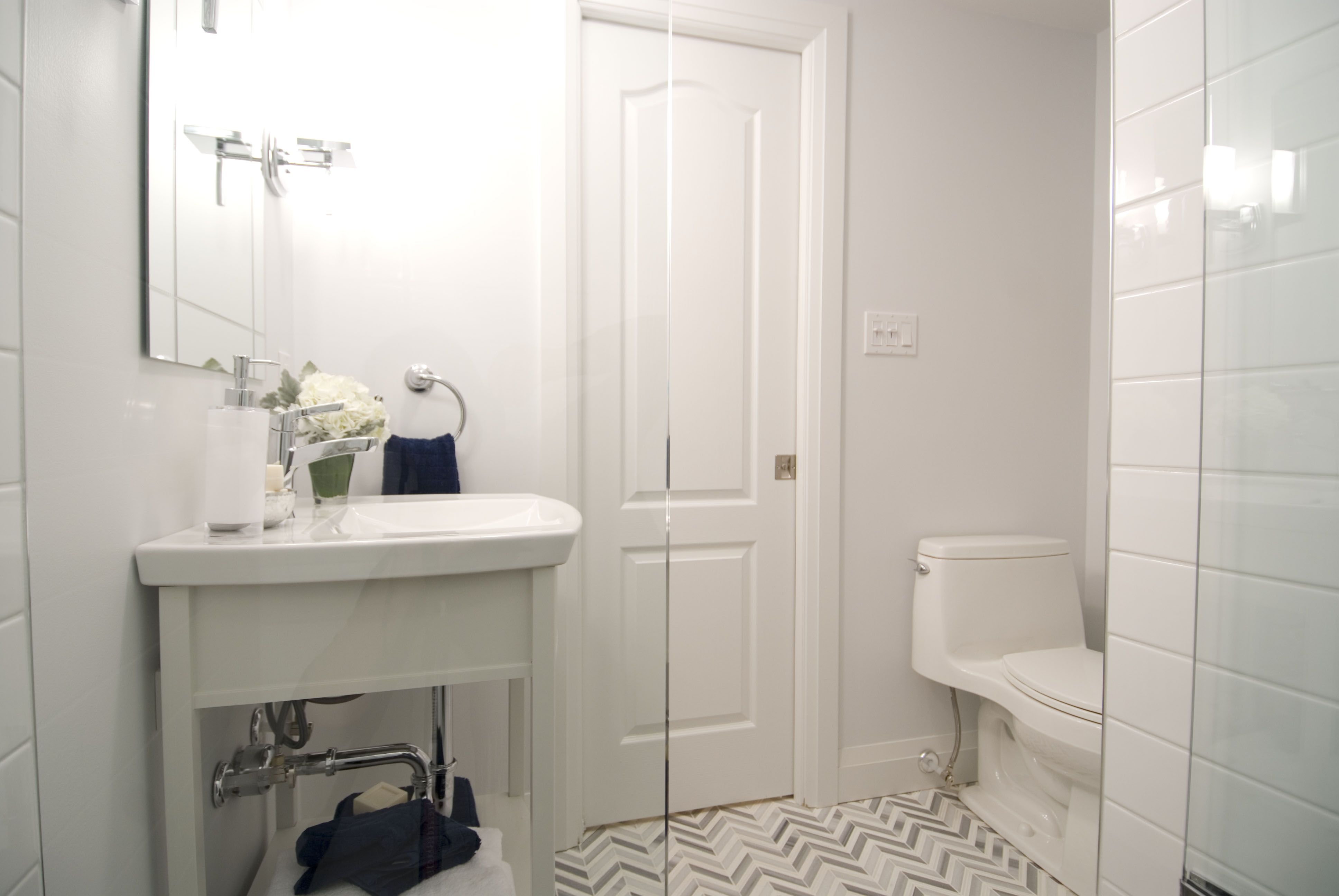 Renovated Basement Bathroom, Income Property HGTV