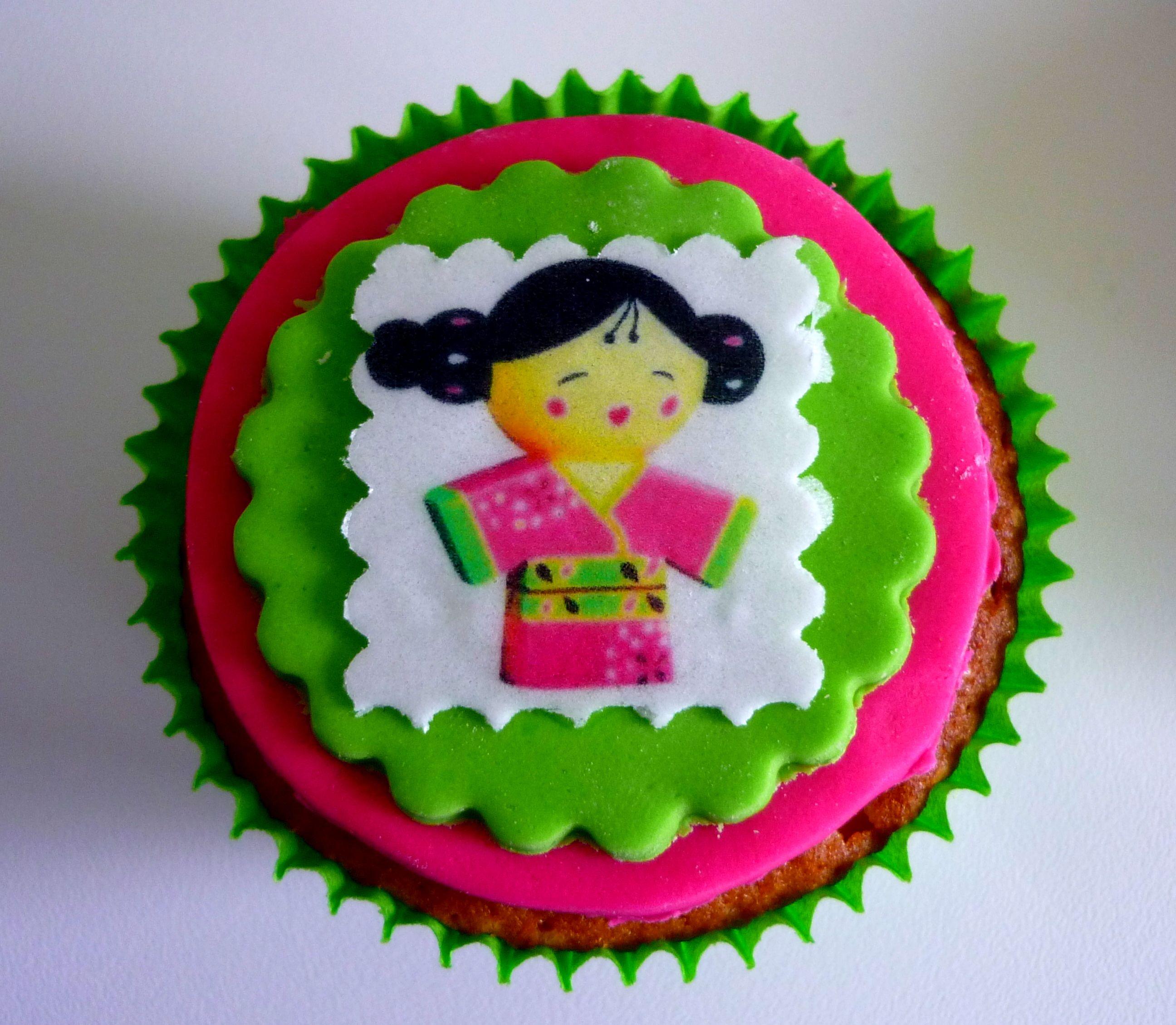 In de cupcake zit een speciale boodschap.
