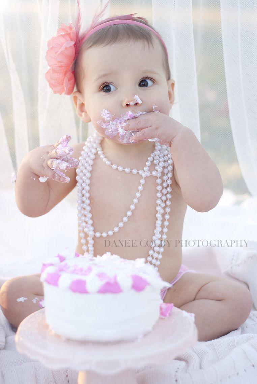 1 Year Photos Danee Colby Photography Birthday Girl