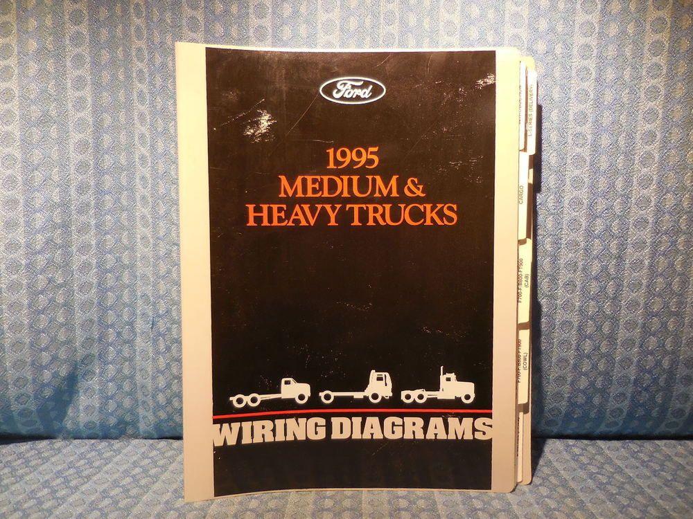 1995 ford truck medium heavy duty oem wiring diagrams ford rh pinterest com 2003 Ford Truck Fuse Diagram 2003 Ford Truck Fuse Diagram
