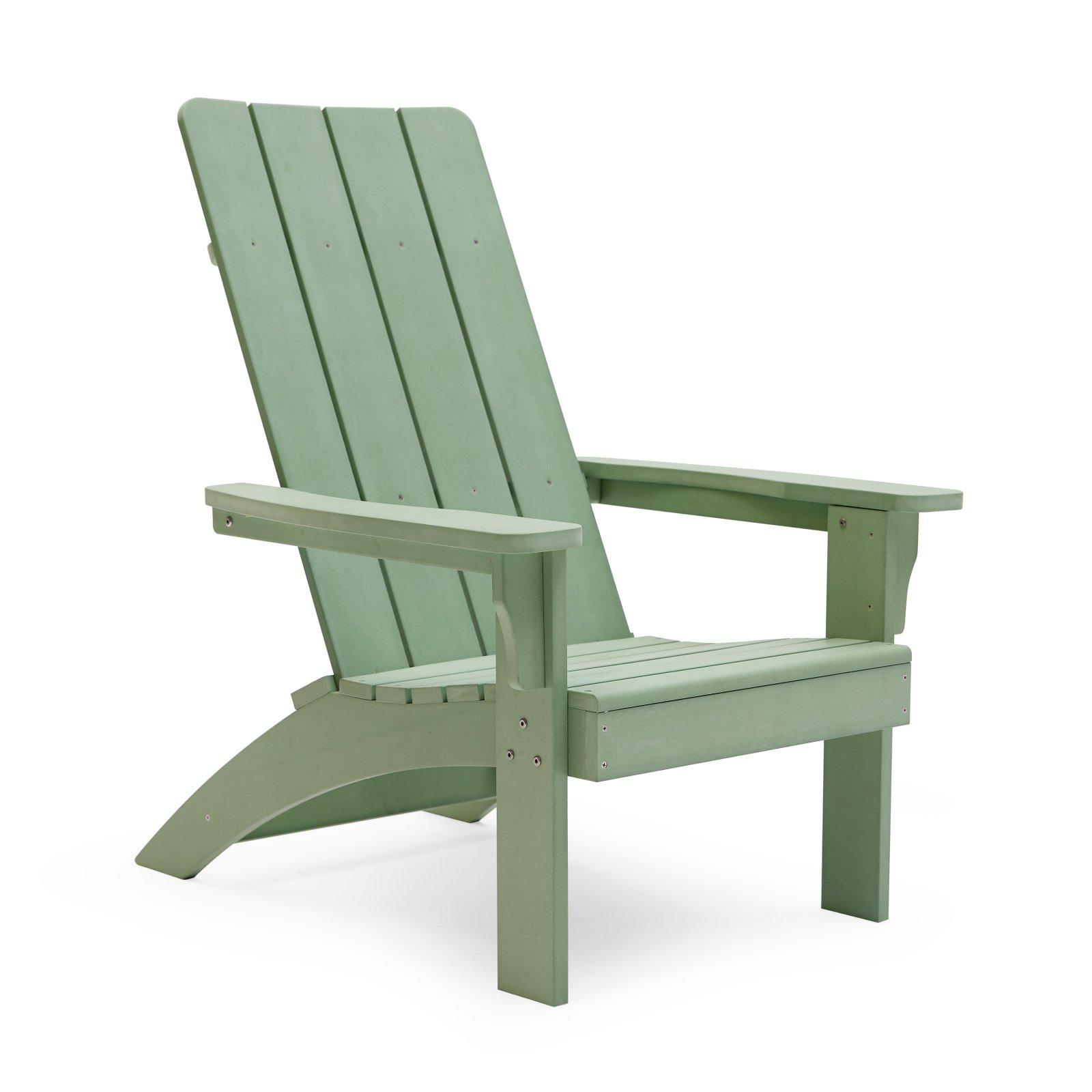 Outdoor Modrn Retro Glam Adirondack Chair Adirondack Chairs