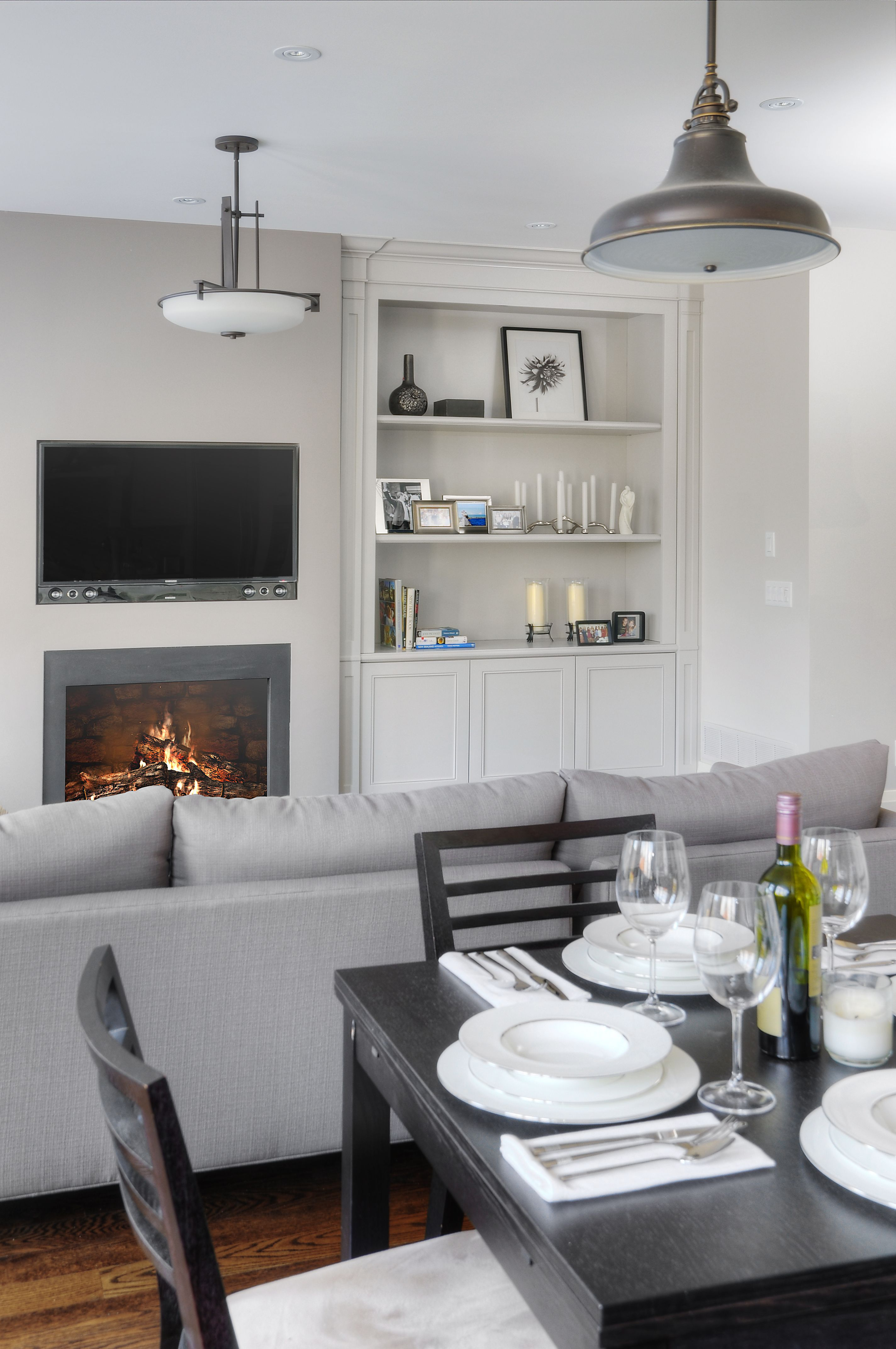 Best Painted Milan Style Custom Cabinetry With Open Shelving 400 x 300