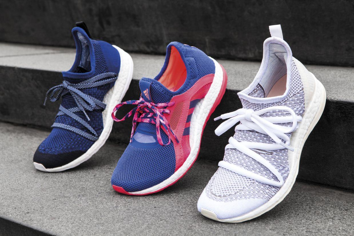 adidas pureboost x womens running shoe der erste boost. Black Bedroom Furniture Sets. Home Design Ideas