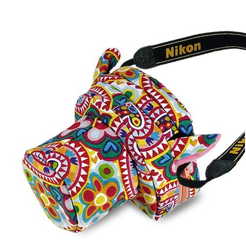 DUSTGO Nugget Fashion Cartoon Designed For SLR Camera Bag - Shipping Cap Promotion- - TopBuy.com.au