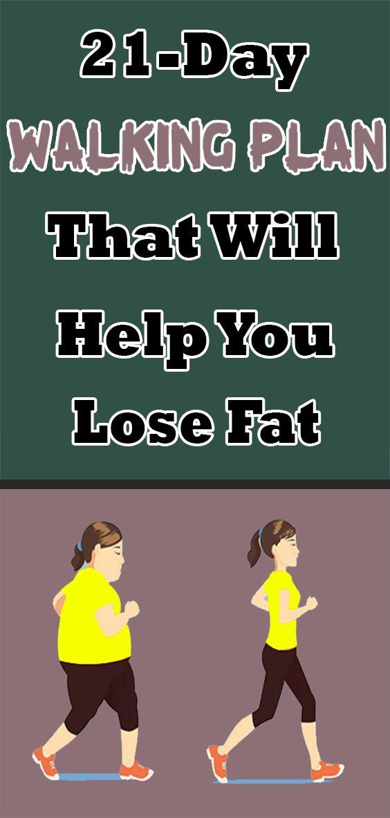 Plan de marche de 21 jours qui vous aidera à perdre de la graisse