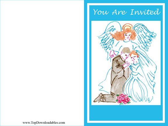 Angel Theme Wedding Ideas and Printables