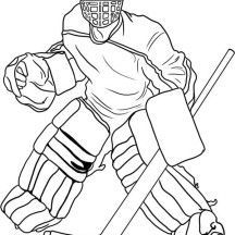 Hockey Sports Coloring Pages Coloring Pages Hockey Drawing