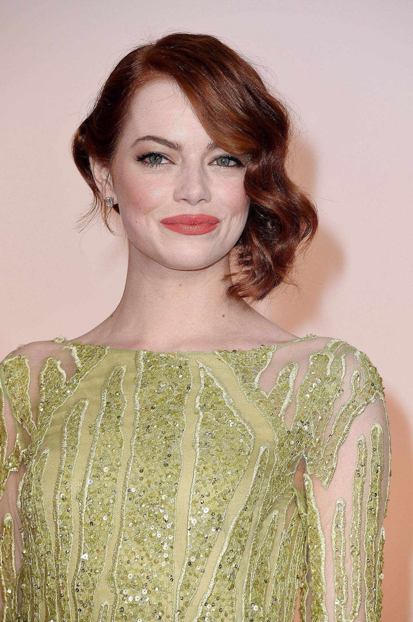 Emma stone pinterest lob redheads and makeup