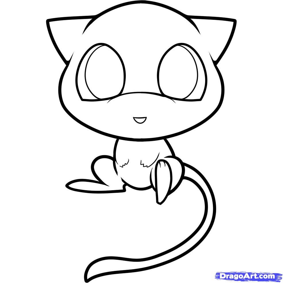 How To Draw Chibi Mew Mew Step 8 1 000000059633 5 Jpg 985 985