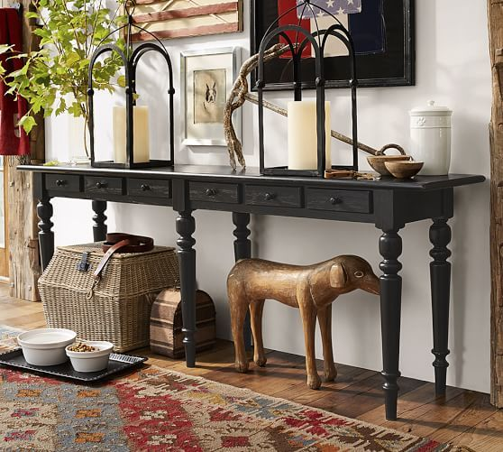 Tivoli Long Console Table Large Console Table Extra Long