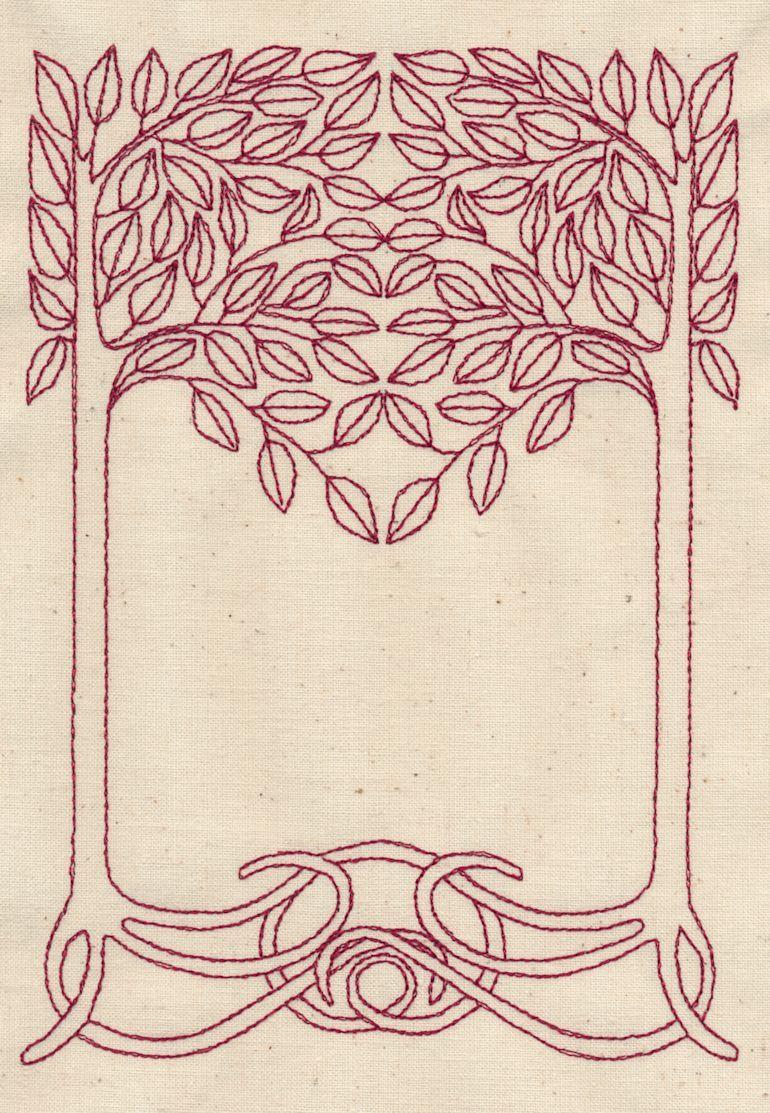 Art Deco Tree : Papercraft