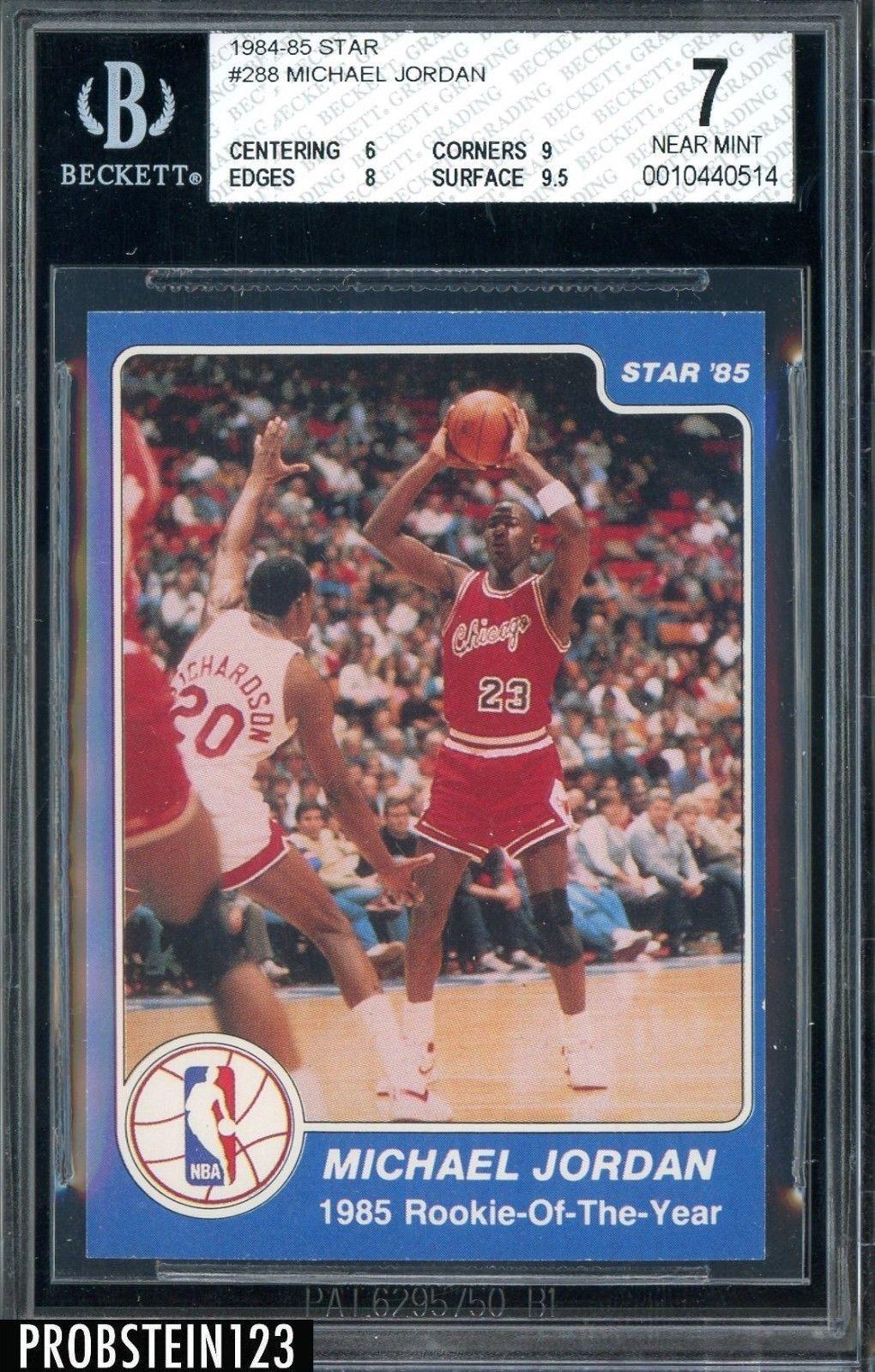 198485 star basketball 288 michael jordan bulls rc