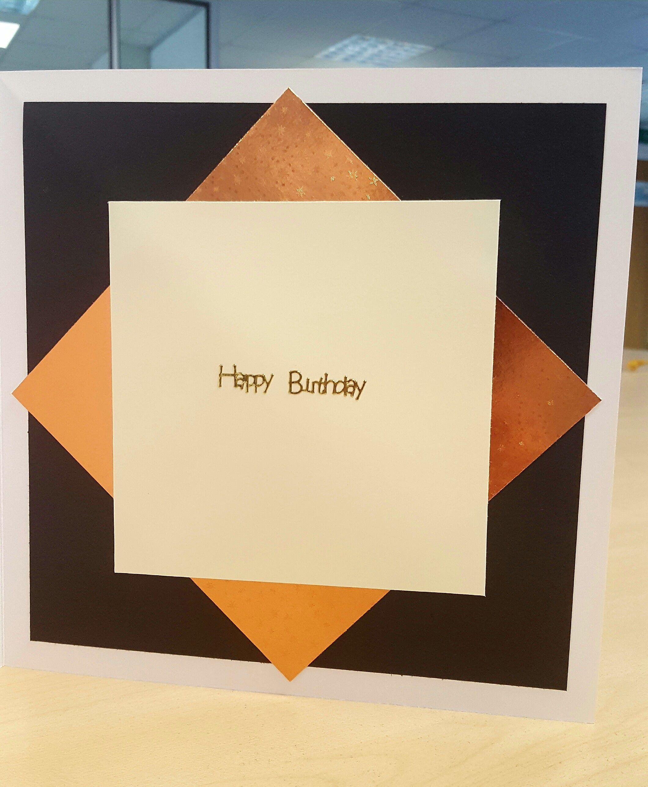 Male th birthday card ibiza san miguel inside handmade by