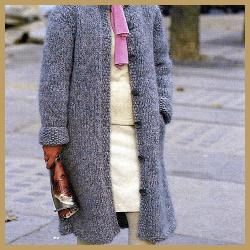 Damen mantel stricken anleitung