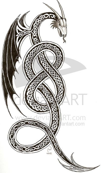 a88b9cf0d Celtic serpent by IrishArtiste on deviantART | tattoo ideas and cool ...