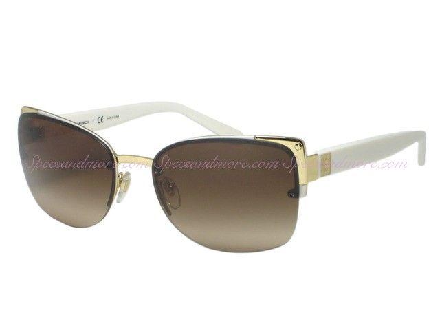 Tory Burch TY 6034 Gold Ivory 3028/13 Metal Rim Sunglasses