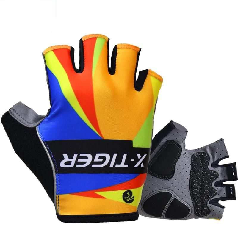73f601d3601 X-Tiger 3D GEL Pad Sport Gloves Half Finger MTB Bike Gloves Cycling Gloves  Luvas Bicicleta Para Ciclismo Mountain Bicycle Gloves