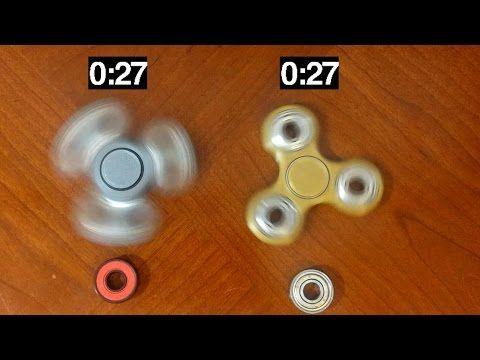 Spin Test Ceramic Vs Steel Ball Bearings Fidget Spinners Youtube Fidget Spinner Spinners Fidgets