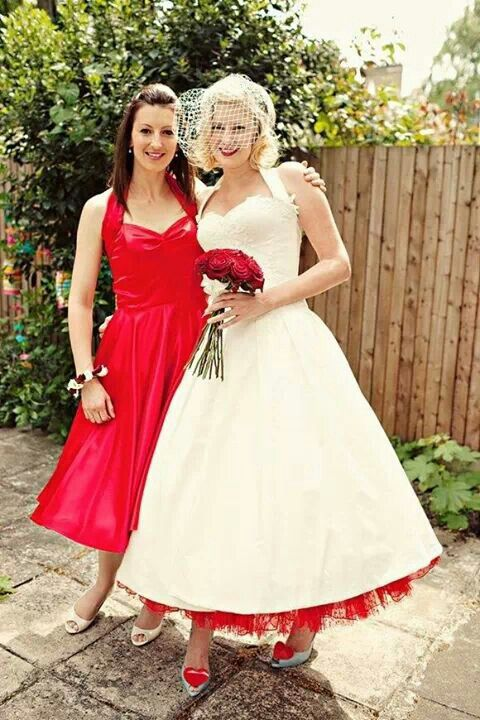 Vintage Pin-up Dresses | Vintage Fab Wedding Gowns <3 in 2019 ...