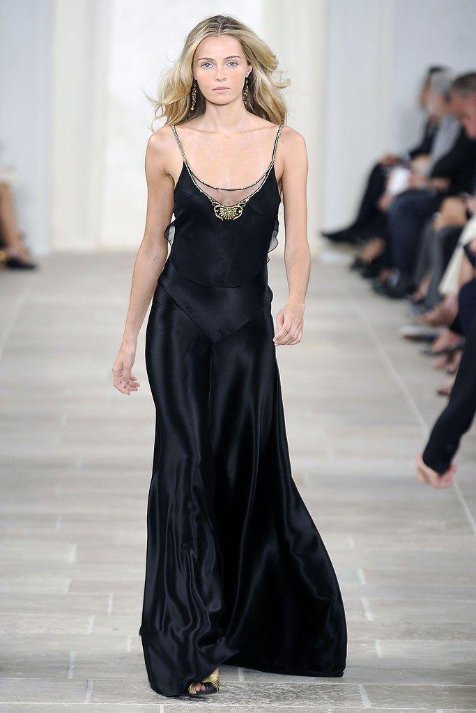 Ralph Lauren Spring 2009 Ready-to-Wear Fashion Show - Valentina Zelyaeva