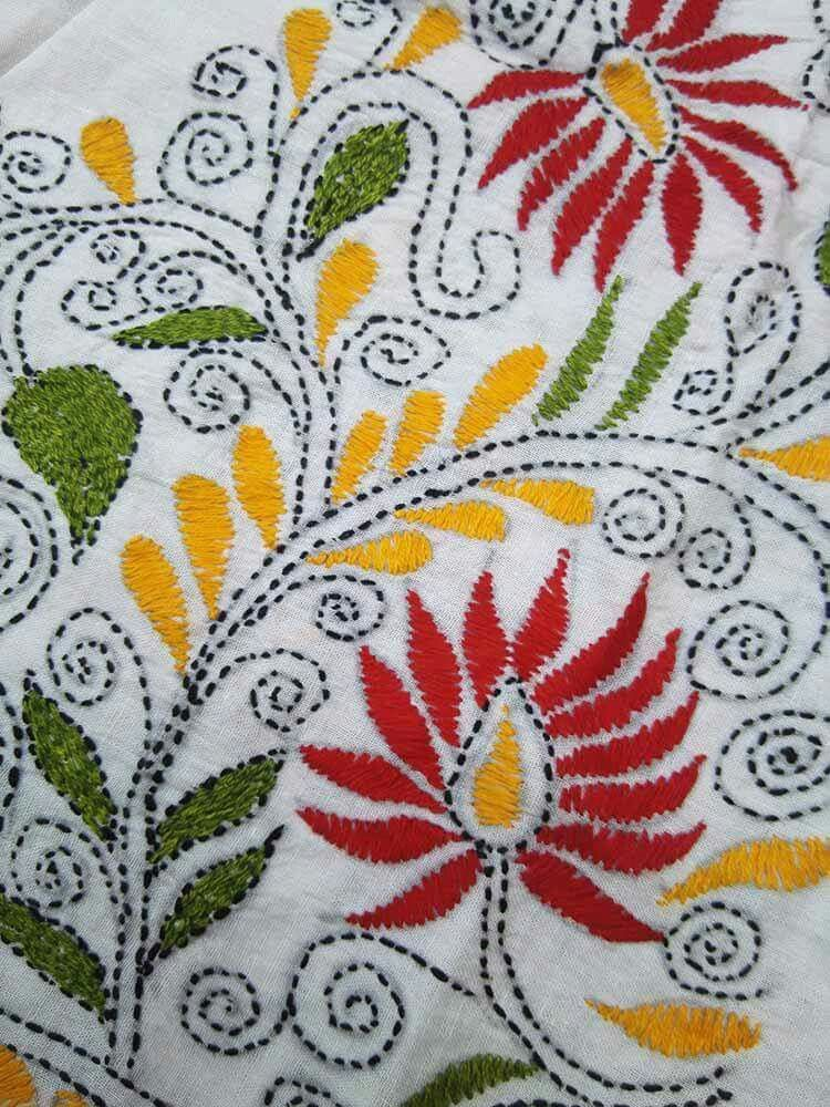 Kantha Embroidery Kantha Work Pinterest Embroidery