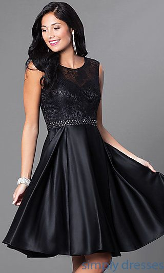 Clearance Size 10 16 Black Short Satin Cocktail Dress 2019 Women Knee Length Mermaid Cocktail Party Dresses Vestido Coquetel Factory Direct Selling Price Weddings & Events