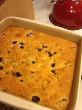 Buttermilk Blueberry Breakfast Cake Recipe