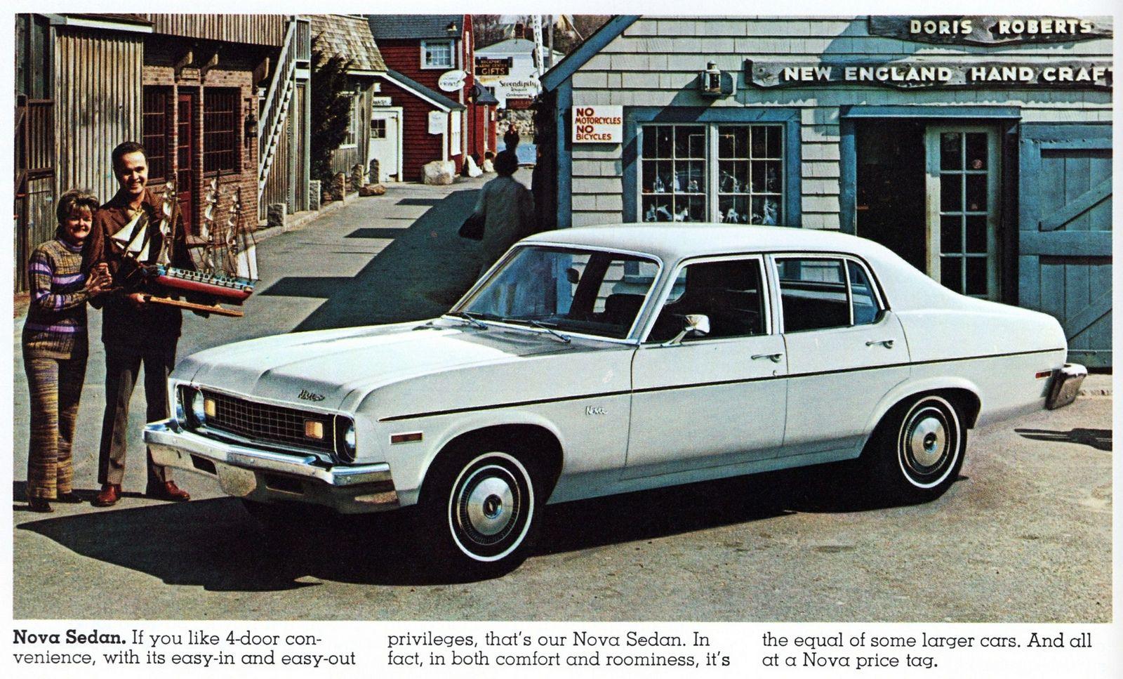 1973 Chevrolet Nova 4 Door Chevrolet Nova Chevrolet Chevy Nova