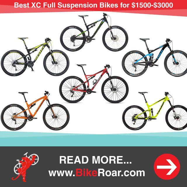Best Xc Full Suspension Bikes For 1500 3000 Bike Full