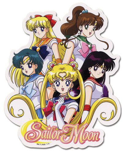 Sailormoon Sailor Soldier Sticker
