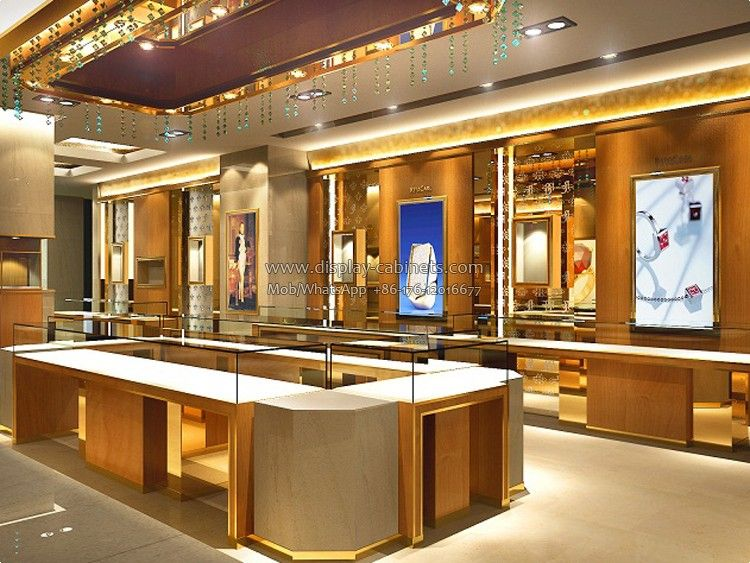 JW48 Jewellery Display StandHow To Attract People's Attention And Enchanting Jewelry Store Interior Design Plans