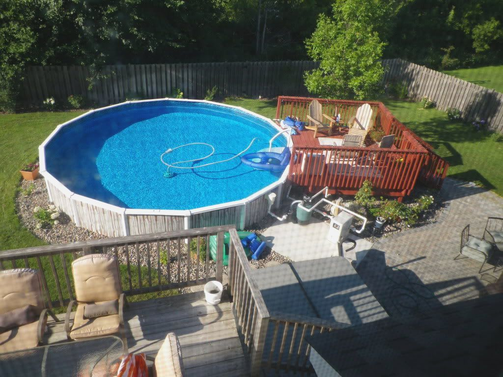 10 Awesome Tricks Of How To Build Above Ground Pool Ideas Backyard