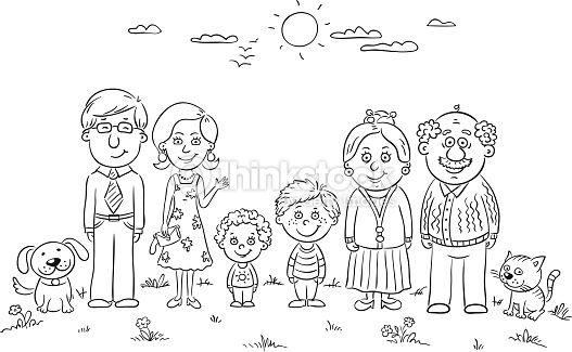 My Family Activities For Preschool Para Colorear Buscar Con Google