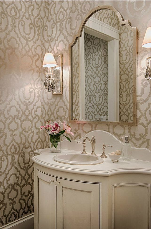 32 Best Small Bathroom Design Ideas And Decorations For 2020: 24 Best Of Powder Room Wall Decor Ideas In 2020 (With