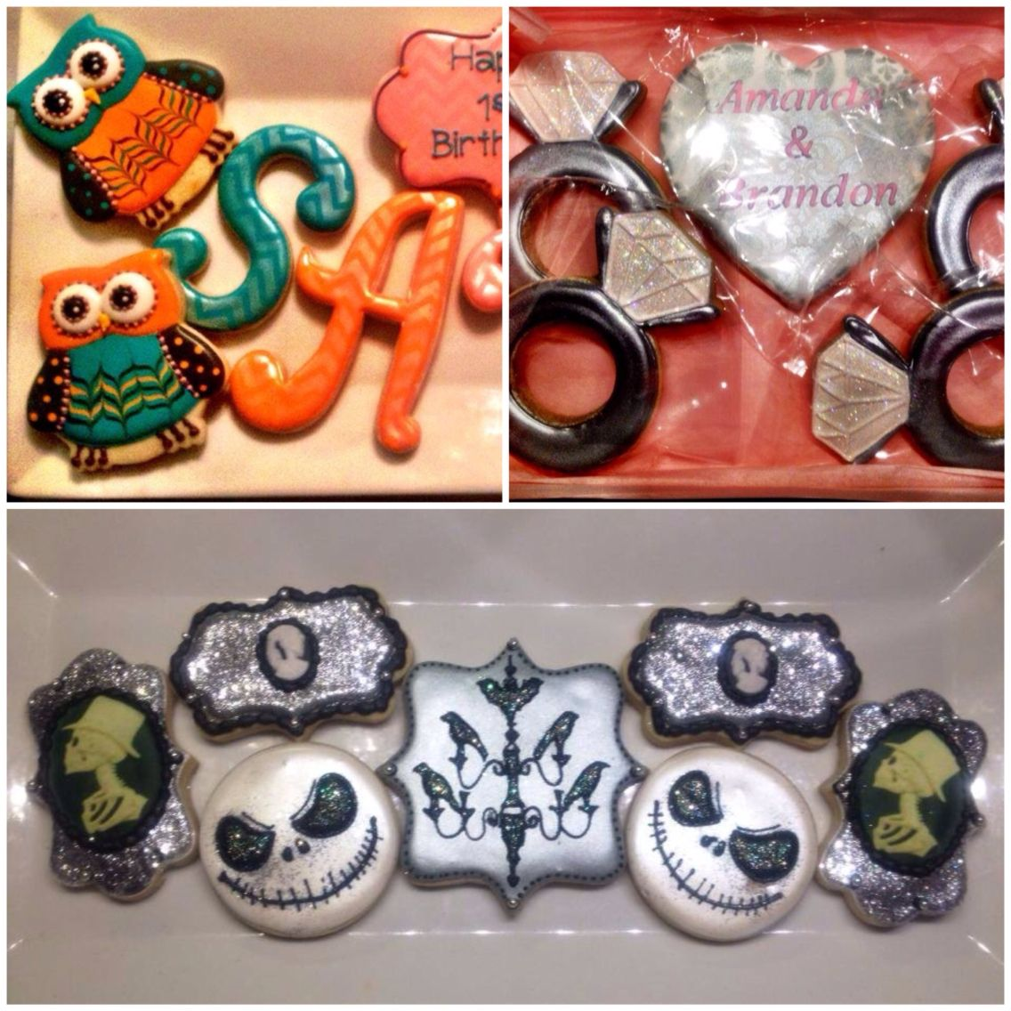 Options/ideas for favors.  Rock'n Sugar Confections.