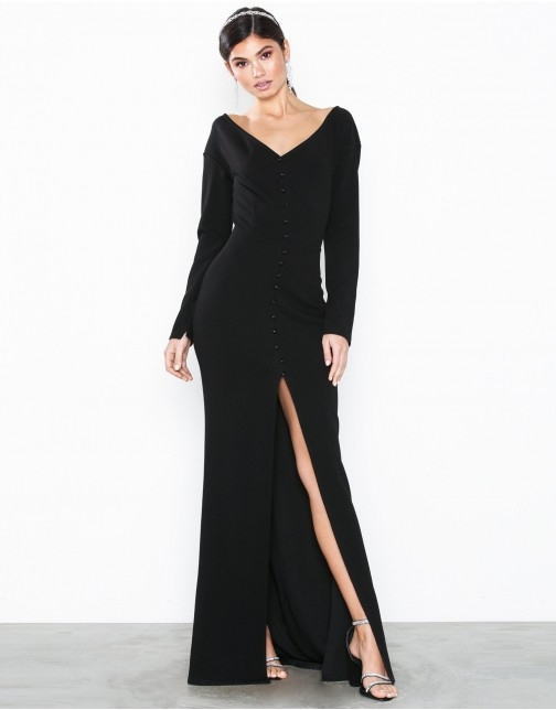 Ag A996 Nly Eve Czarna Maxi Sukienka Guziki 34 N01 9017916129 Oficjalne Archiwum Allegro Dresses Fashion Style