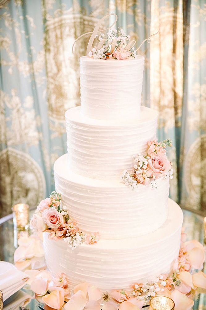 30 Beautiful Wedding Cakes The Best From Pinterest Song Of