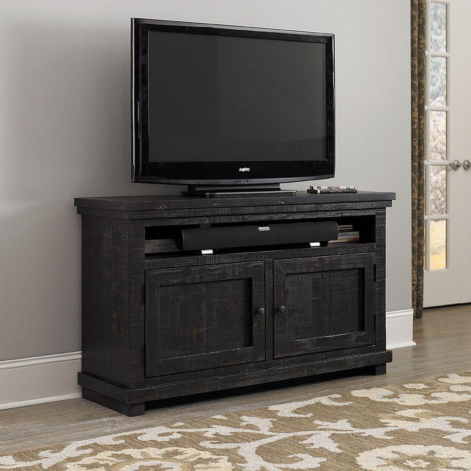 Shop Progressive Furniture Willow 54 In Tv Console At The Mine  # Meuble Tv Riva