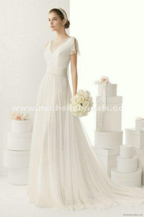 Vestidos de novia para boda civil en cancun