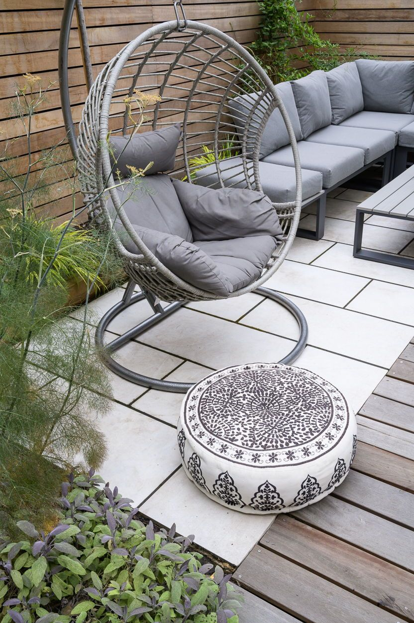North London garden designer revamps this terrace property  – London garden
