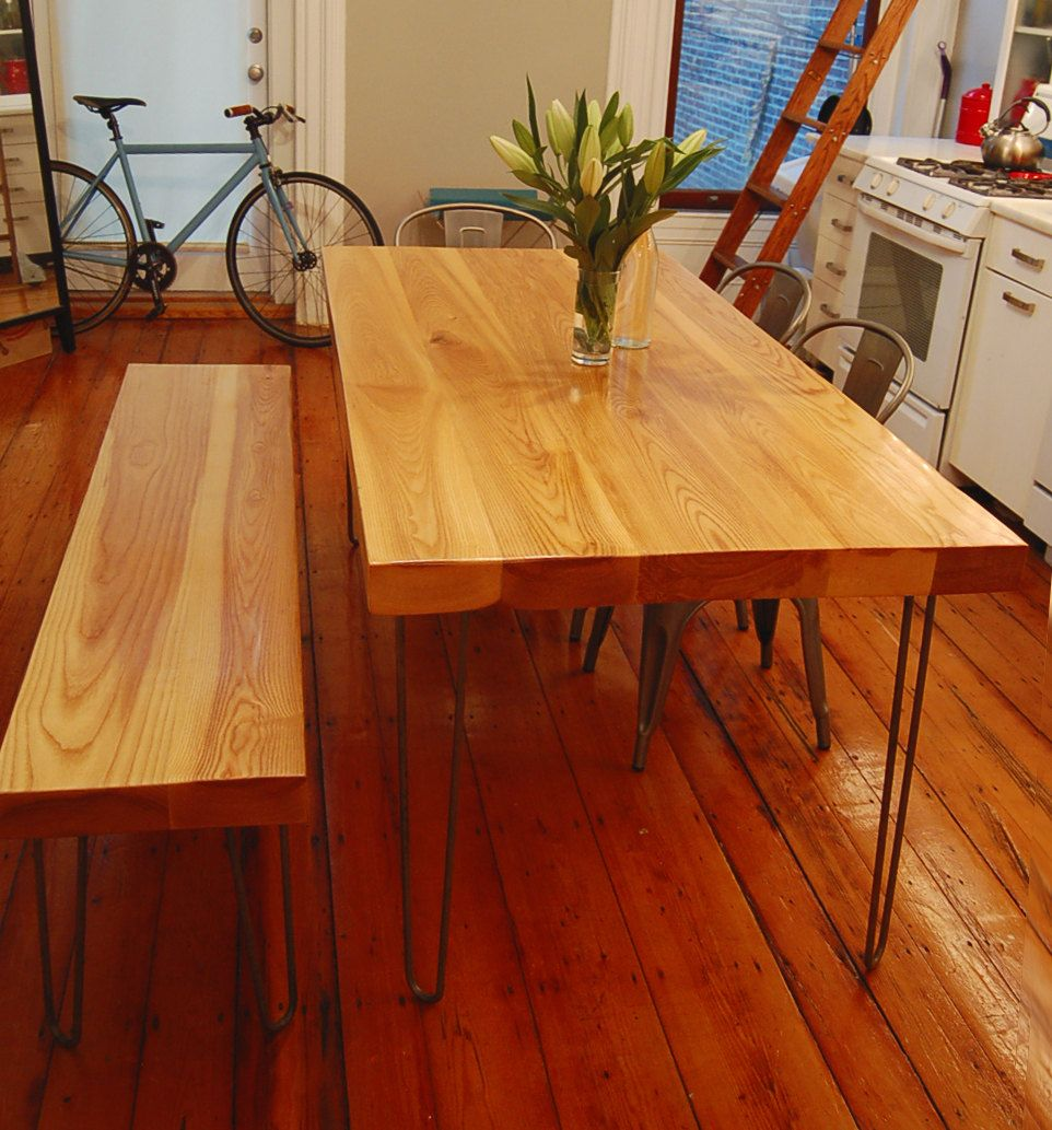 Reclaimed Wood Table - Modern Dining Room - 3\