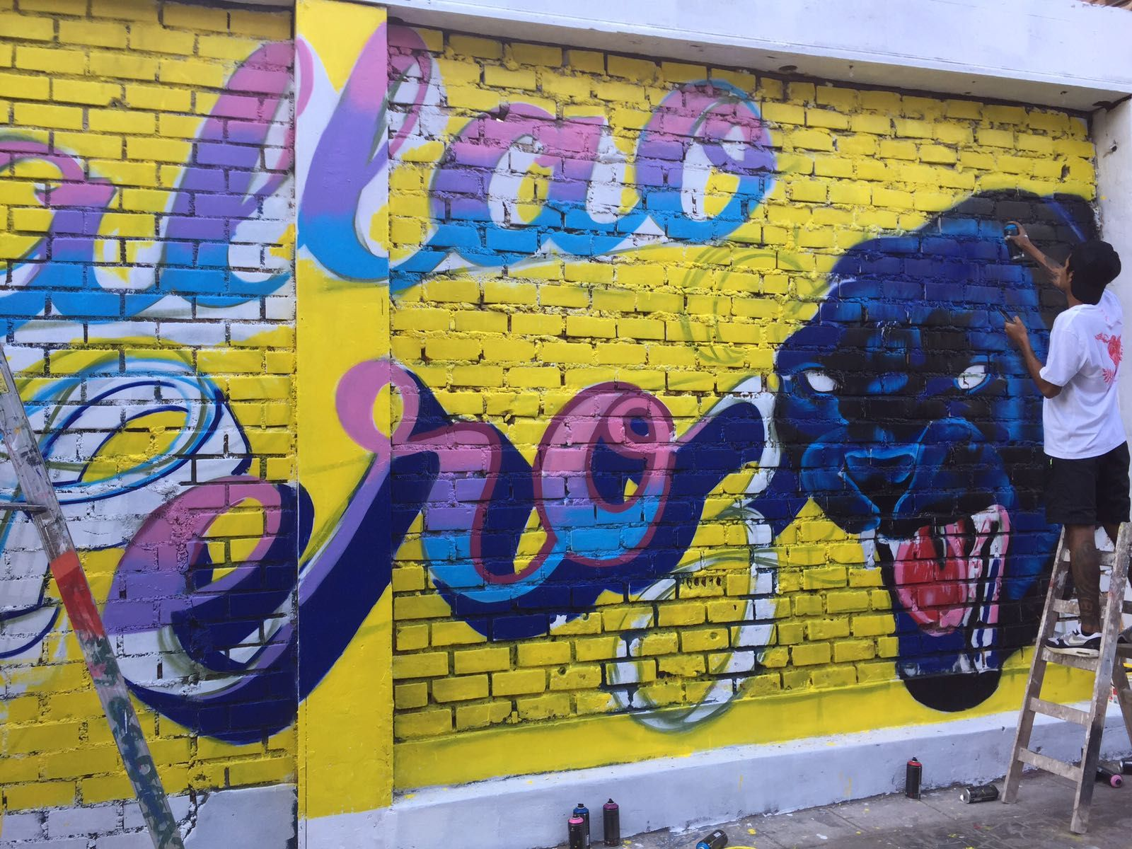 Lima, Peru (Callao Monumental) - Street Art & Graffiti. Brand new ...
