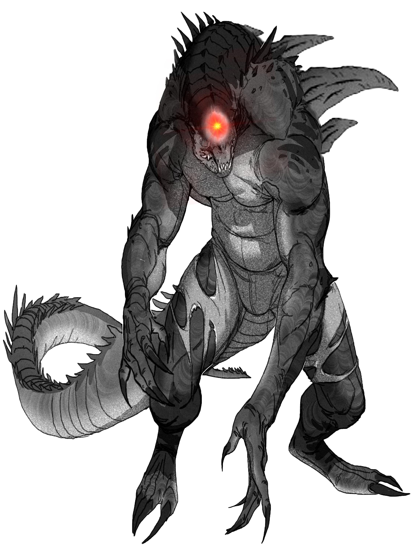Magically Created Were Reptile In 2019 Creature Concept