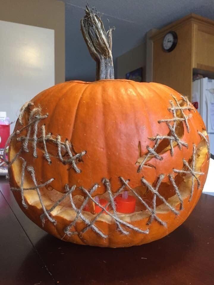 49 Gemütliche Kürbisschnitzideen #halloweenaesthetic