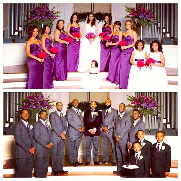 Purple And Red Wedding Ideas: Last Sneak Peak Of HabeshaBride @Senait Z Ande Gorgeous Wedding I Love That Her Groom Wore A