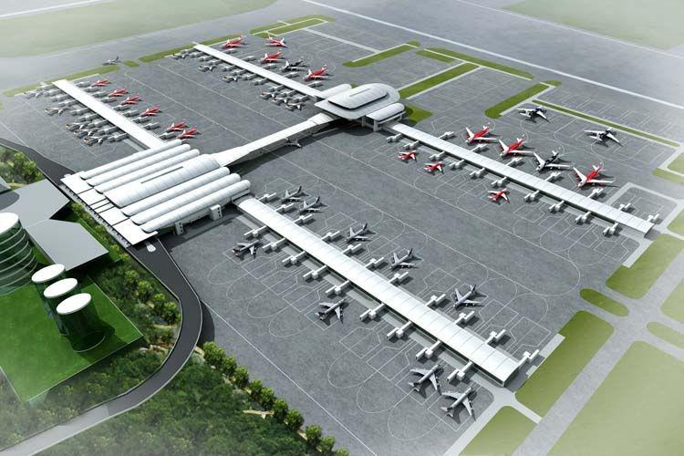 Das Neue Low Cost Carrier Terminal Am Flughafen Kuala Lumpur Kurz Klia 2 Genannt Mehr Deutschsprachig Airport Architecture Design Kuala Lumpur Airport Design