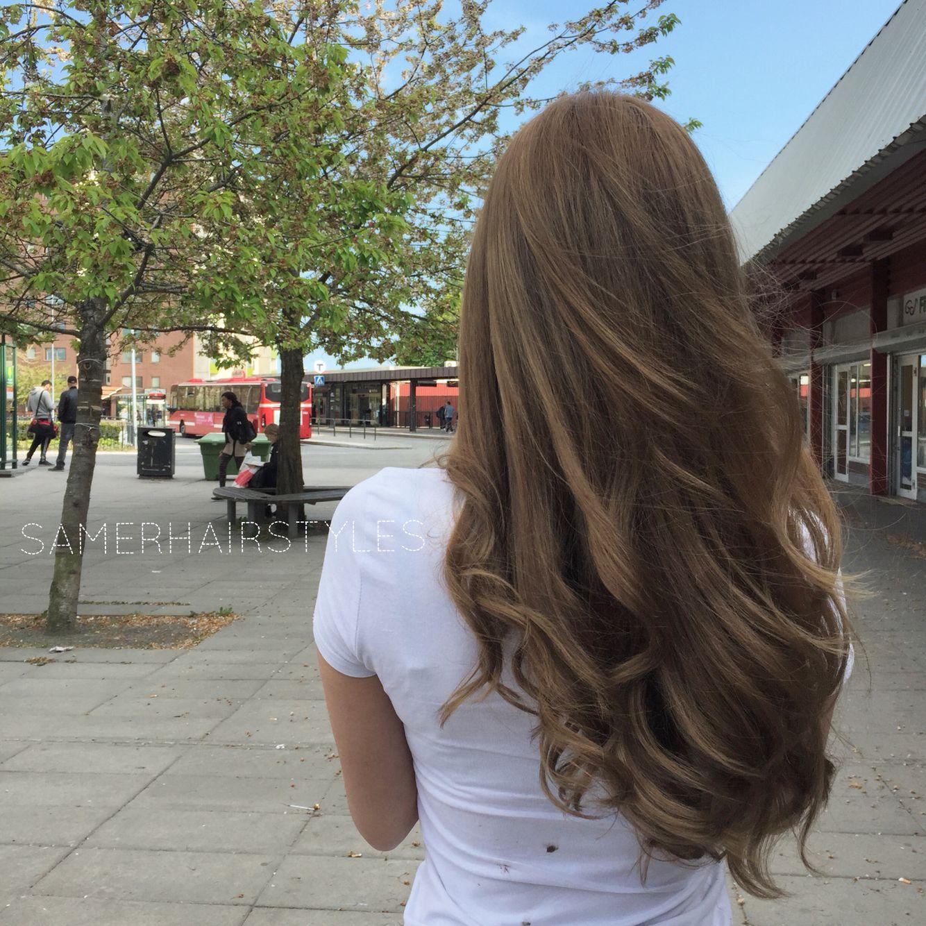 #colorwithsamer #avfärgning # färgning #slingor #ask  #blond #brun #sweden #stockholm