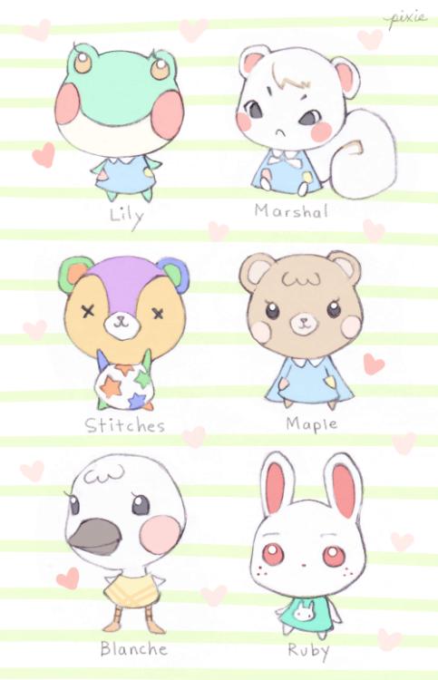 Mink And Mango Animal Crossing Fan Art Animal Crossing