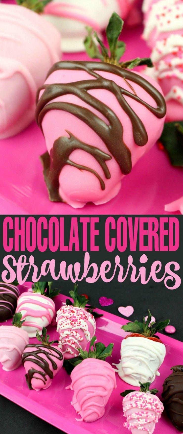 Valentine S Day Chocolate Dipped Strawberries Recipe Valentine S